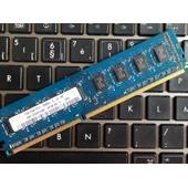m�moire hynix-2GB: 2x1-DDR3-1333MHz