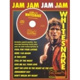 WHITESNAKE JAM WITH TAB + CD