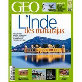 Geo 2014 (N�429) L'inde Des Maharajas, Jaipur, Baroda, Udaipur...