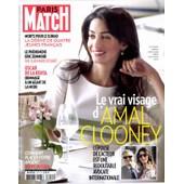 Paris Match N�3415 : Amal Clooney - Oscar De La Renta - Eric Zemmour