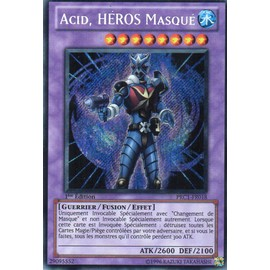 Acid Heros Masque 'masked Hero Acid) - Yu-Gi-Oh!