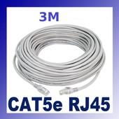 Cable Ethernet RJ45 Cat 5e FTP 3m blind�