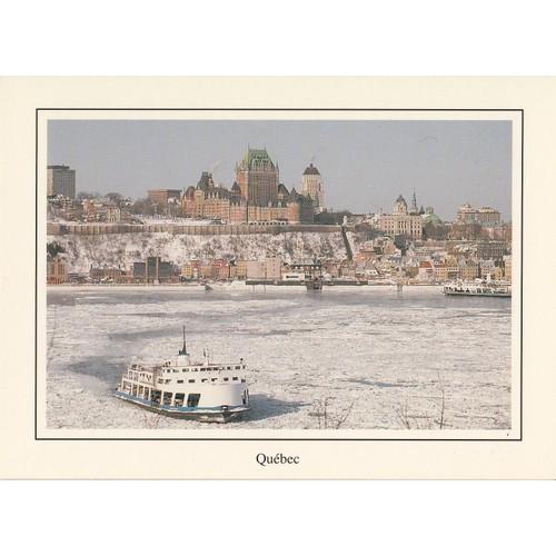 Ville de québec la traversée québec <strong>lévis</strong> en hiver canada.