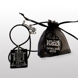 Pendentif collier mylene farmer timeless officiel