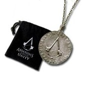 M�daillon Assassins Creed Unity Avec Sa Bourse