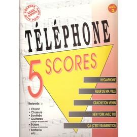 Téléphone - 5 scores vol 2 [Partition] by Musicom