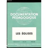 Les Eglises / Collection Document Pedagogique - 5e Ann�e -N�46 - Janvier - Histoire Couleur / Complet. de COLLECTIF