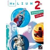 Helium 2 Secondes Physique Chimie de Hatier