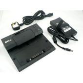 Station d'accueil r�plicateur E-Port Plus d'origine Dell Ac Adaptateur 130W PR03X , P/N : PW380 Latitude E4200, Latitude E4300, Latitude E5400, Latitude E5500 - avec garantie 1 an