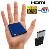 Mini passerelle multim�dia Full HD 1080p HDMI TV USB SD disque dur