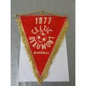 Fanion Celtic De Beaumont Marseille 1977