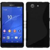Coque Silicone Sony Xperia Z3 Compact S-Style Noir