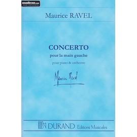 Concerto pour la main gauche pour piano & orchestre