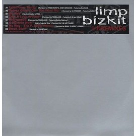"LIMP BIZKIT REMIXES 2X12"" COLLECTOR 8 TITRES"