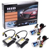 55W HID Xenon Light Headlight Lamp Lampe Conversion Kit H8 / H11 6000K Replacement MA100