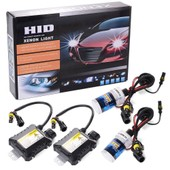 55W HID Xenon Light Headlight Lamp Lampe Conversion Kit H4-3 8000K Replacement MA097