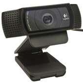 Logitech Hd Pro C920 Webcam Noir