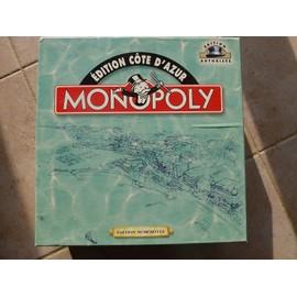 Monopoly Cote D'azur Edition Num�rot�e N�000389 Complet