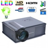 Vid�oprojecteur LED 170W 3000 Lumens Full HD 1080P Home cinema Noir