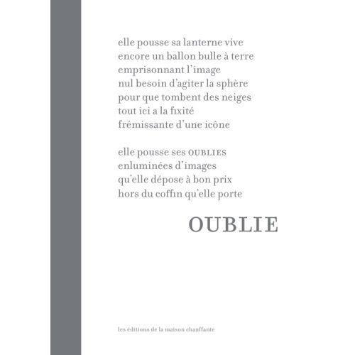 9782915821628 - þþþ: Oublie - Livre