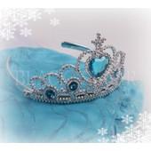 Diad�me Elsa Pour Enfant Couronne Princesse D�guisement La Reine Des Neiges Costume Pour Soir�e F�te Anniversaires Sorties Envoie Imm�diat