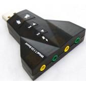 Cl� USB - Carte son Externe 7.1 Micro 3D St�r�o