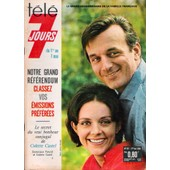 Tele 7 Jours N� 267 Du 01/05/1965 - Colette Castel - Dominique Paturel - Il Y A 10 Ans Henri De France Presentait Au Prince Rainier Sa Petite Invention - La Tele Couleurs - P. Sabbagh.