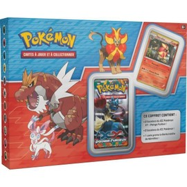 Pokemon Coffret Exclu 4 Boosters Xy +Carte Promo