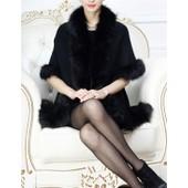 Bol�ro/Echarpe/Ch�le/Cape En Fausse Fourrure Longue Luxueux Pour Robe Mari�e/Soir�e/C�r�monie-Emilie Mariage