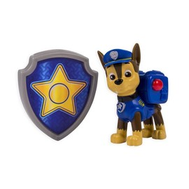 Paw Patrol Action Pack Pup And Badge [Chase]