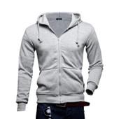 Sweat Capuche Manteau Pull Jacket Veste Homme Gar�on Hoodie Zipp� Shirt Sweater 3 Taille Multi Couleurs
