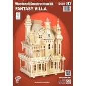 Maquette En Bois - Fantasy Villa - Quay