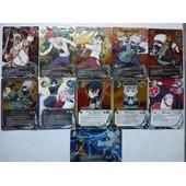 Lot De 11 Cartes Naruto Shippuden En Version Us