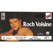 Ticket Du Concert De Roch Voisine Du 30 Janvier � Dijon