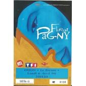 Ticket Du Concert De Florent Pagny Du 6 Avril 1998 � Dijon