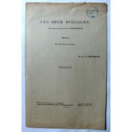 """BOUFFONNERIE de J. OFFENBACH """"Les Deux Aveugles"""" pour Harmonie et Fanfare"""