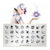 Moyou London � Nail Art Stamping Plaque Sci-Fi 03