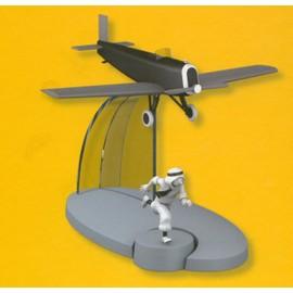 Collection Hachette Ed. Moulinsart En Avion Tintin N�21 Avion Arabe Cigares Du Pharaon