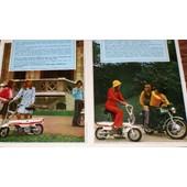 4 Publicit� Papier Motobecane Cady 1972