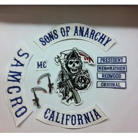 patch ecusson kit soa sons of anarchy samcro jax harley hells angels