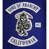 Patch Ecusson Sons Of Anarchy Jax Soa Samcro Harley Mc