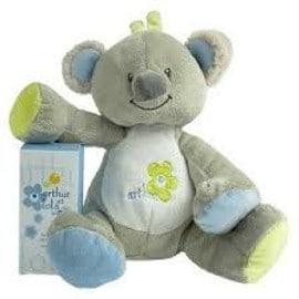 Doudou Koala Arthur Et Lola Coloris Vert Bleu
