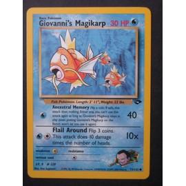 Giovanni's Magikarp (Magicarpe) - Gym Challenge