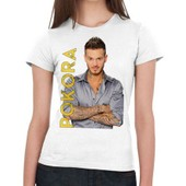 T-Shirt M Pokora Name - Femme