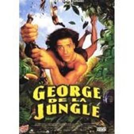 George De La Jungle - Walt Disney - Brendan Fraser - Sam Weisman - Affiche De Cin�ma Pli�e 120x160 Cm