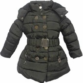Doudoune Filles Doubl�e Mouton Synth�tique Capuche Amovible Du 4ans Au 14ans !! 35%Coton 65%Polyester ! Expedition En 24/48hrs