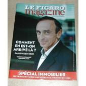 Le Figaro Magazine Comment En Est-On Arriv� L� ? Eric Zemmour Septembre 2014