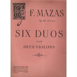 Six Duos pour deux violons