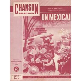 """Les Compagnons, Marcel Amont """"Un mexicain"""""""