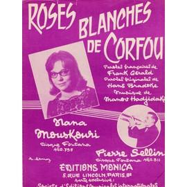 """Nana Mouskouri """"Roses blanches de Corfou"""""""